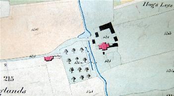 Lane Farm in 1840 [BW1006a]
